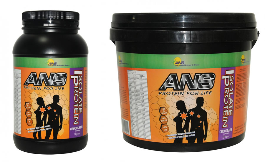 ANS Protein Isolate Vanilla or Chocolate