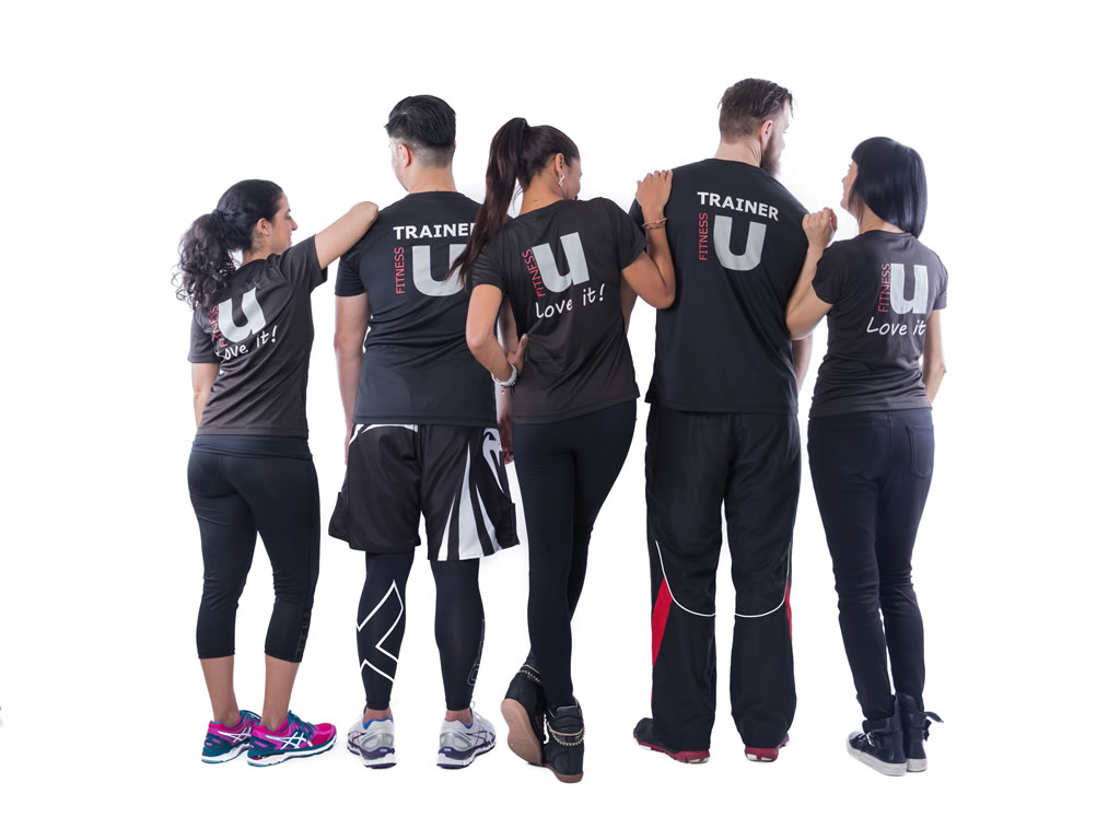 FitnessU personal trainers